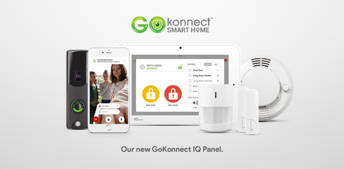 Smart home security with IQ panel