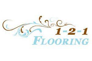 1-2-1 Flooring Logo