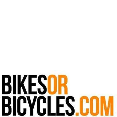 Bikes or Bicycles Logo