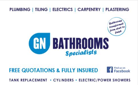 GN Bathrooms Logo