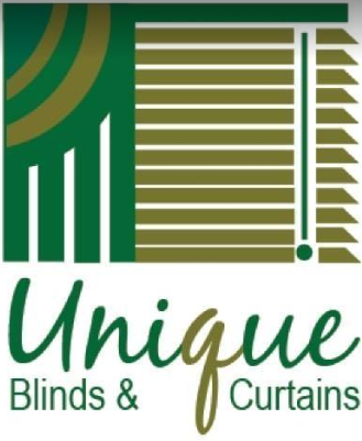 Unique Blinds and Curtains Logo