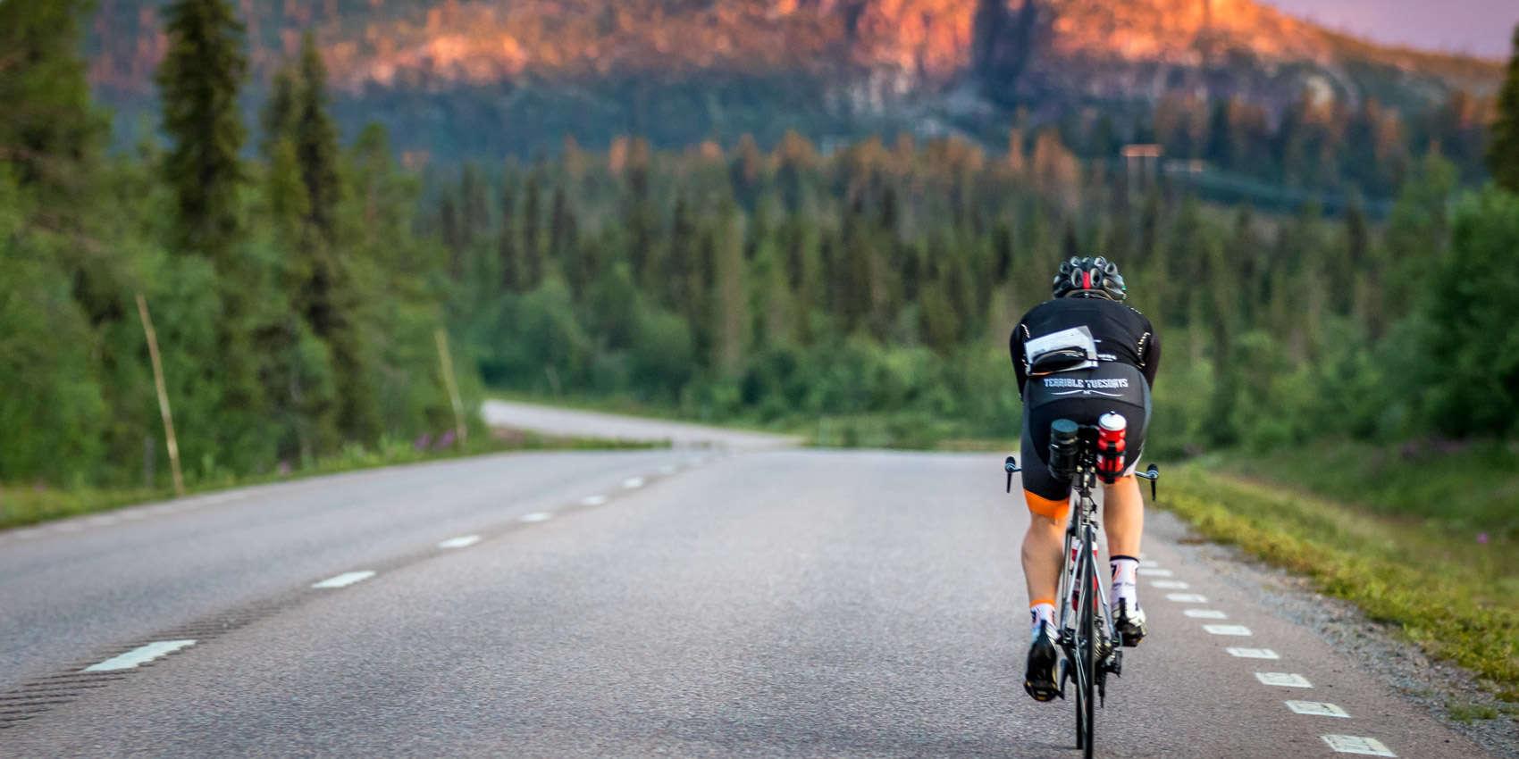 cycling bike sun